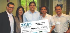 VCIC 2011 Global Champs Wharton