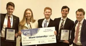 1st Place – Miami (OH)
