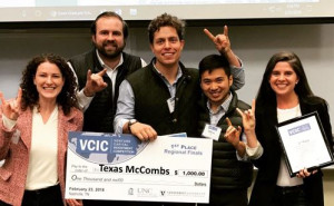 1st Place – Texas McCombs