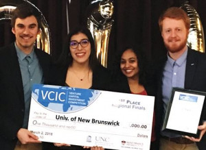 1st Place – Univ. of New Brunswick