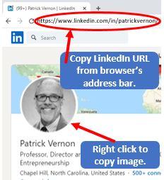 VCIC LinkedIn Mashup