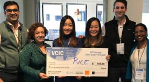 3rd Place Rice Jones